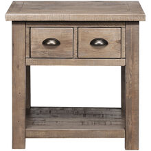 Slater Mill Pine End Table