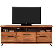 Dana Point Rustic Brown 80 Inch Console