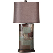 Grafton Patchwork Table Lamp