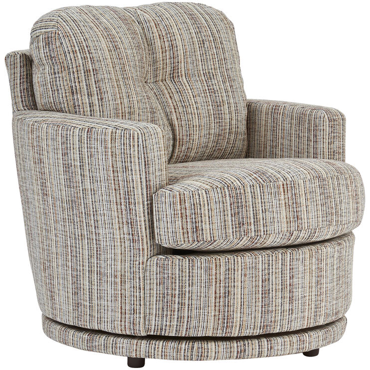 Annabel Accent Swivel Chair Living Rooms Slumberland