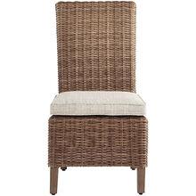Beachcroft Beige Side Chair with Cushion