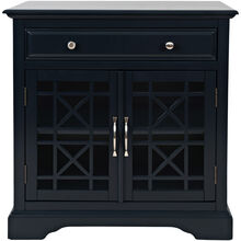 Chilton Navy Accent Cabinet