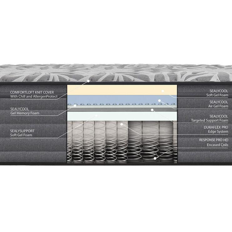 Sealy Posturepedic Satisfied II Soft Eurotop Twin Mattress