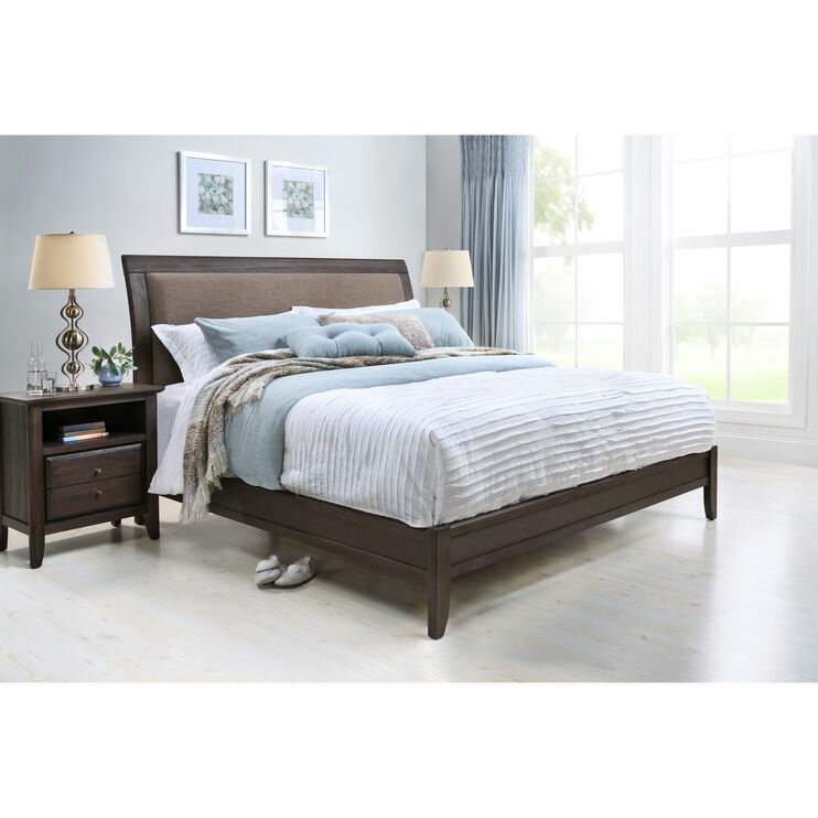 City II Basalt Queen Bed