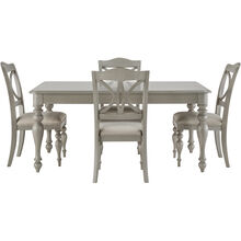 Summer House 5 Pc Gray Dining Set