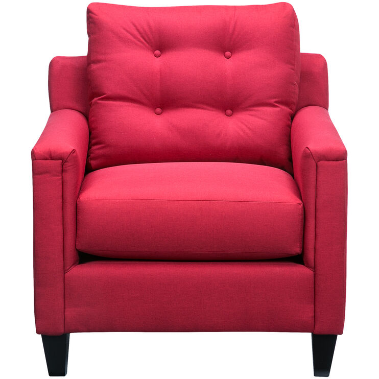 Platte Red Chair