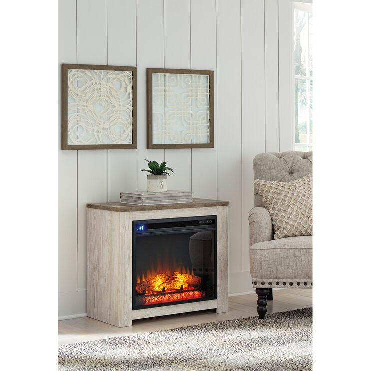 Willowton White Fireplace Mantel