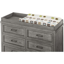 Foundry Brushed Pewter Changer Top