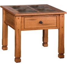Sedona Rustic Oak End Table