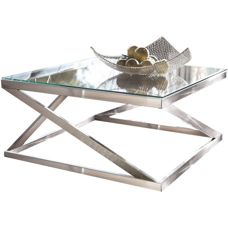 Coylin Silver Coffee Table