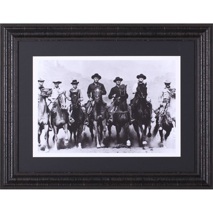 Magnificent Seven Framed Art
