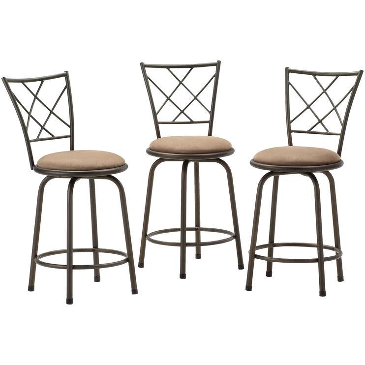 Anna Set of 3 Barstools
