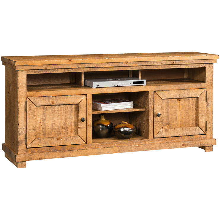 Willow Distressed Pine 64 Inch Console