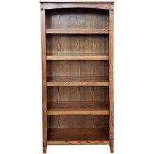 Hartford Oxford Oak 72 Inch Bookcase