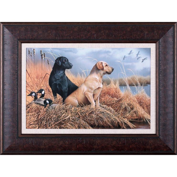 Friends In The Field Framed Art
