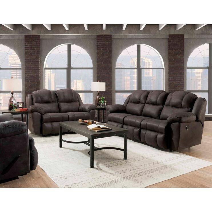 Rufford Steele Reclining Sofa