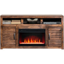 Sausalito Whiskey 62 Inch Fireplace Console
