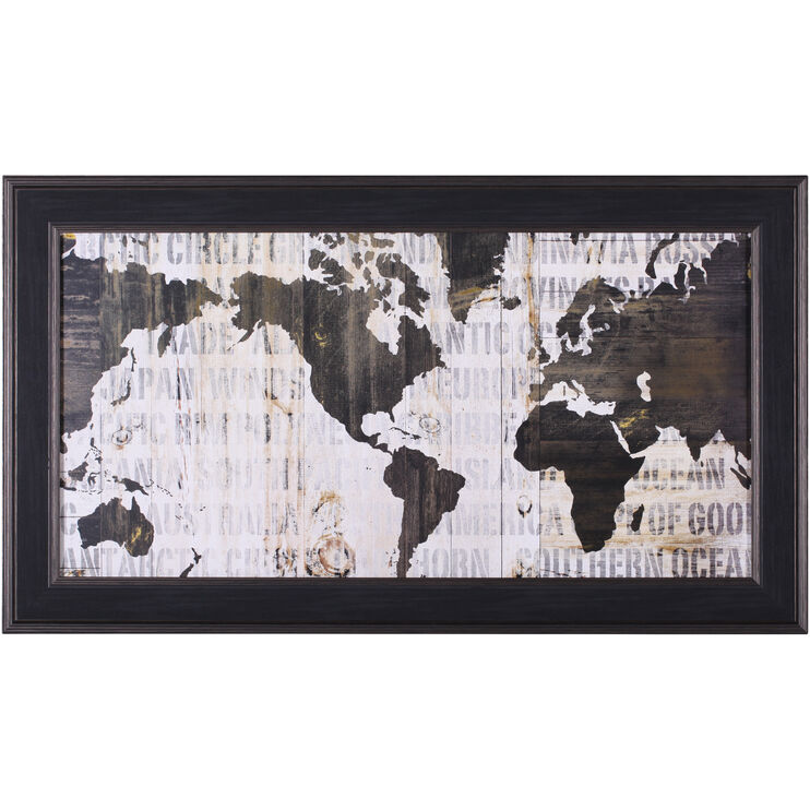 World Map Crate World Map Neutral
