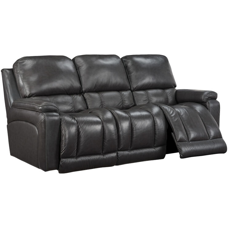 La-Z-Boy Greyson Charcoal Reclining Sofa