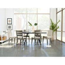 Uptown 5Pc Ladder Back Dining Set