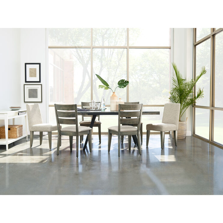 Uptown 5 Piece Ladder Back Dining Set