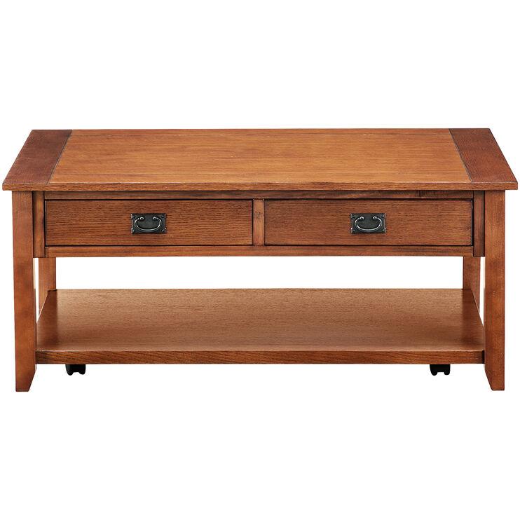 Rutledge Mission Oak Coffee Table