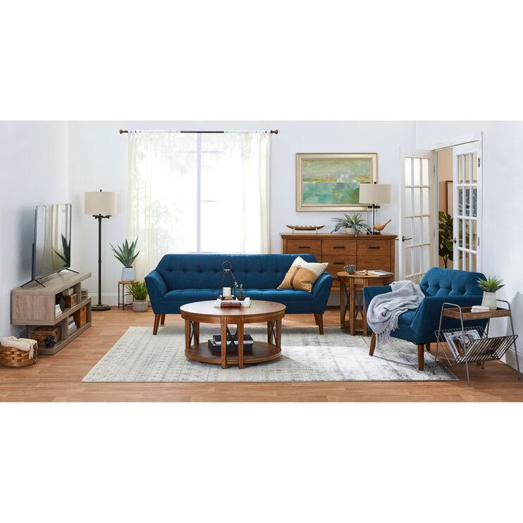 Newport Navy Sofa