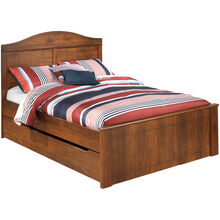 Barchan Brown Full Trundle Bed