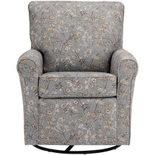 Kacey Lake Swivel Glider Accent Chair