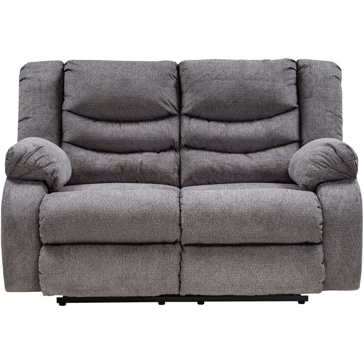 Kent Gray Reclining Loveseat