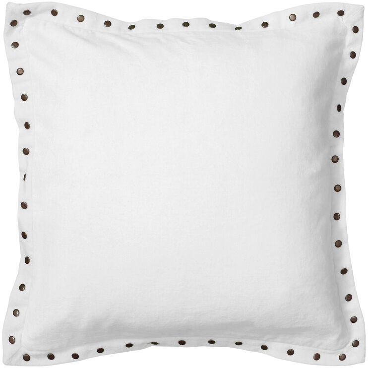 Whitney White Pillow