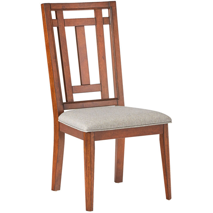Acorn Hill Brown Upholstered Side Chair