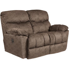 Morrison Cappuccino Reclining Loveseat