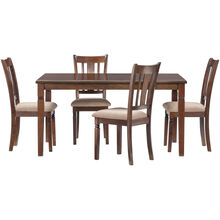 Durham Espresso 5 Piece Dining Set