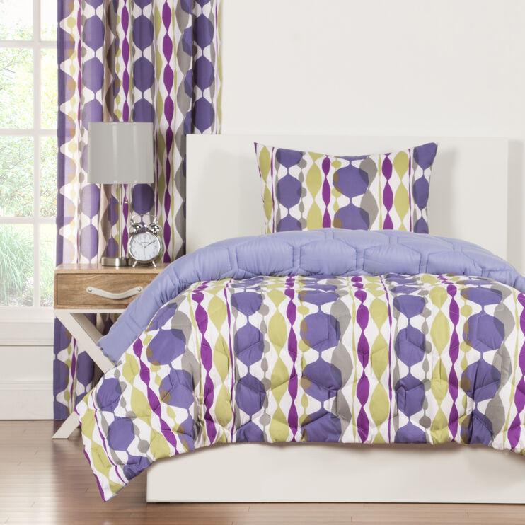 Crayola Be Jeweled 3 Piece Full/Queen Comforter Set