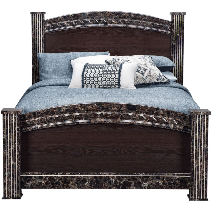 Vachel Brown King Bed