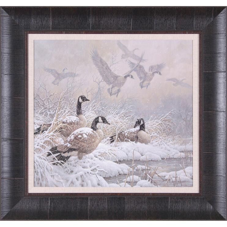 Winter Retreat Framed Art