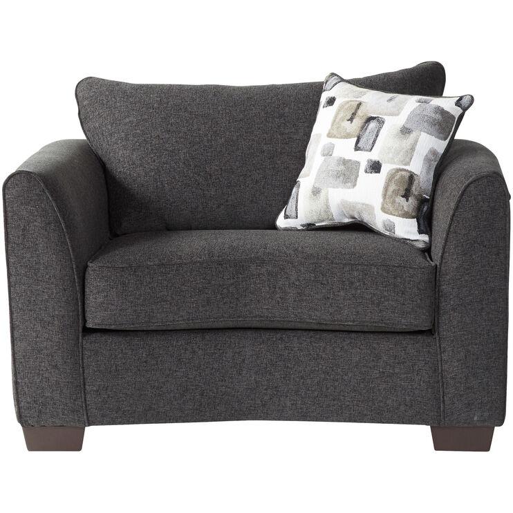 Pleasing Seville Black Chair Slumberland Furniture Ncnpc Chair Design For Home Ncnpcorg