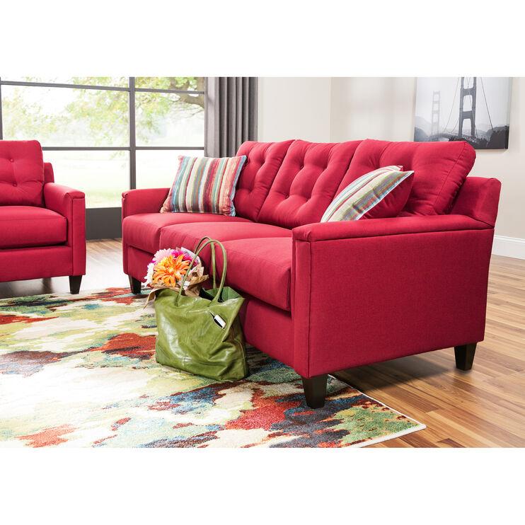 Platte Red Sofa