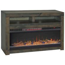 Joshua Creek Barnwood 48 Inch Fireplace Console