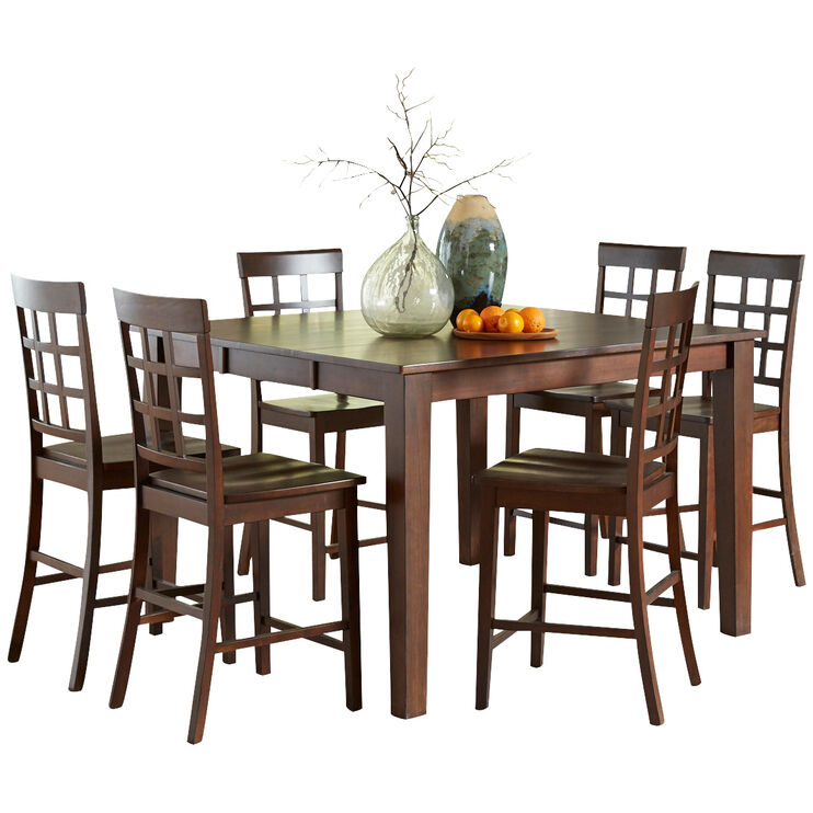 Kinston 5 Piece Espresso Counter Set