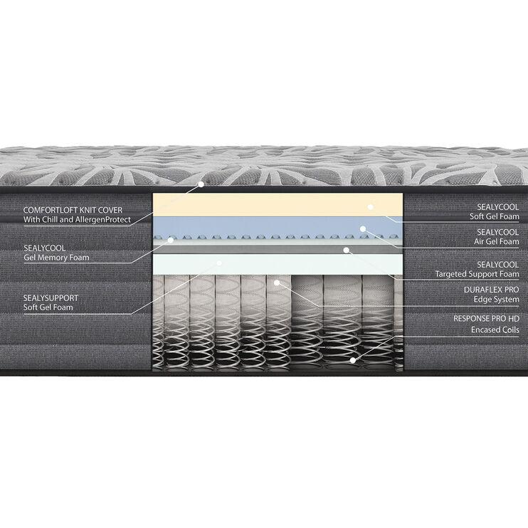 Sealy Posturepedic Plus Satisfied II Soft Eurotop Twin XL Mattress
