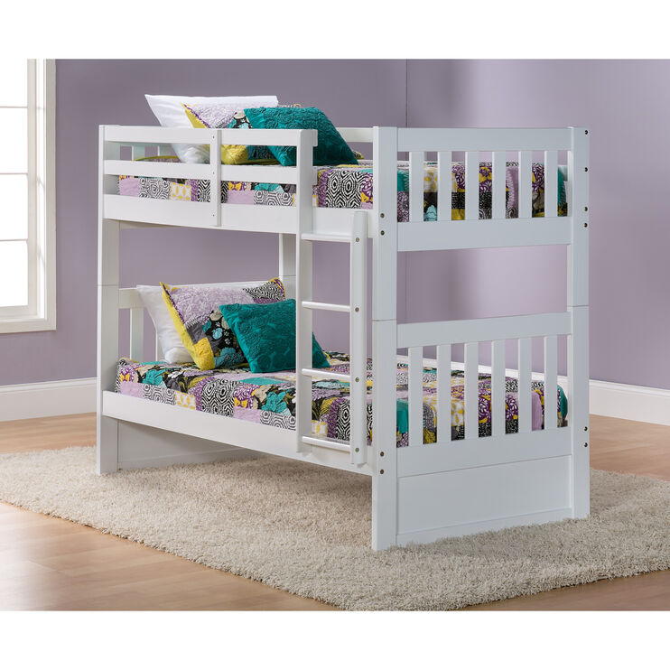 Knollwood White Twin/Twin Bunk Bed