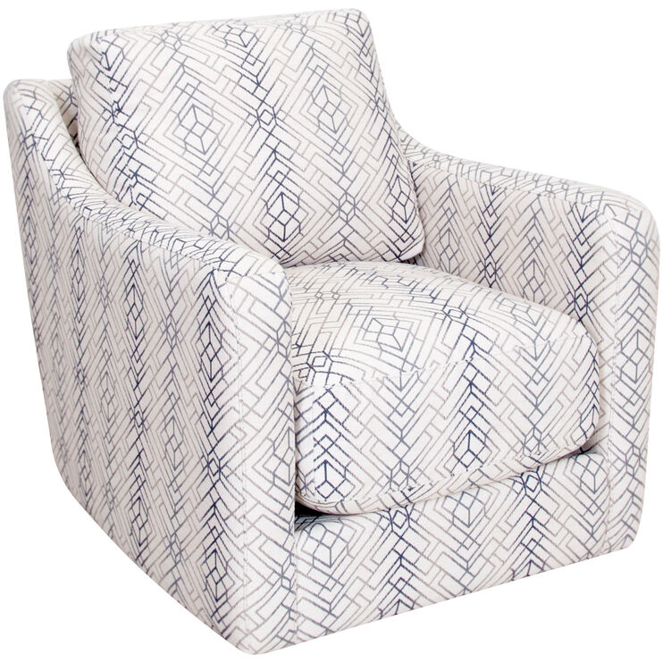 Slumberland Accent Chairs With Arms.Slumberland Furniture Fulton White Swivel Accent Chair
