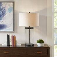 Macon Clear Table Lamp