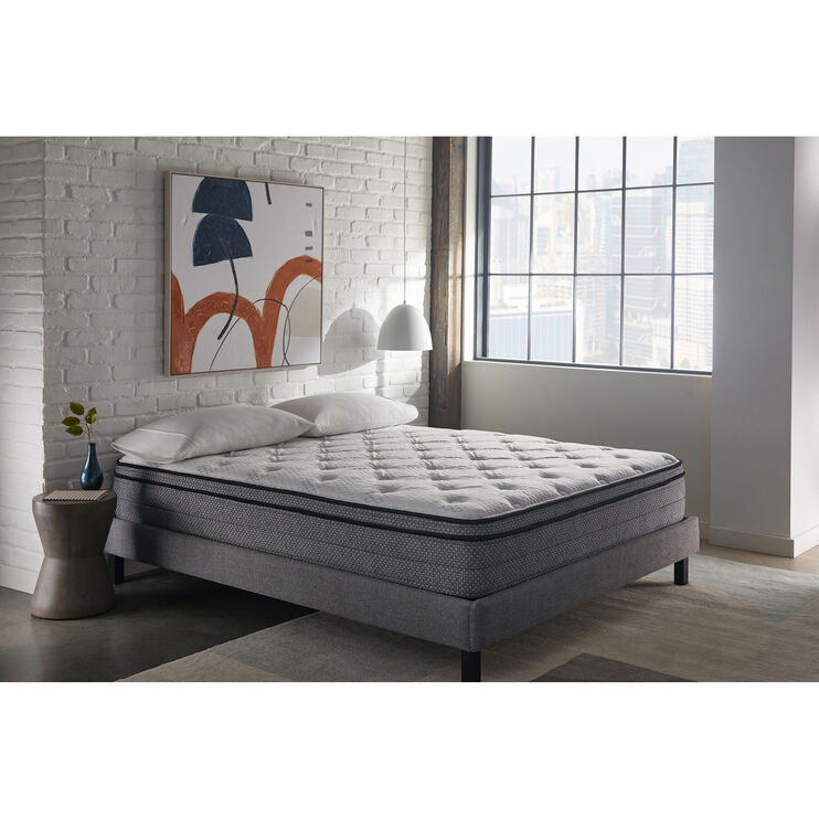 Sleep Inc 12 Inch EuroTop Full Mattress In A Box