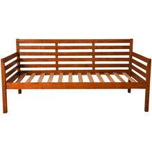 Boho Brown Daybed Frame