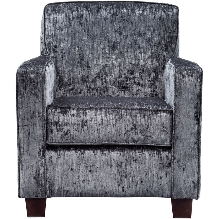 Johnston Dark Gray Accent Chair
