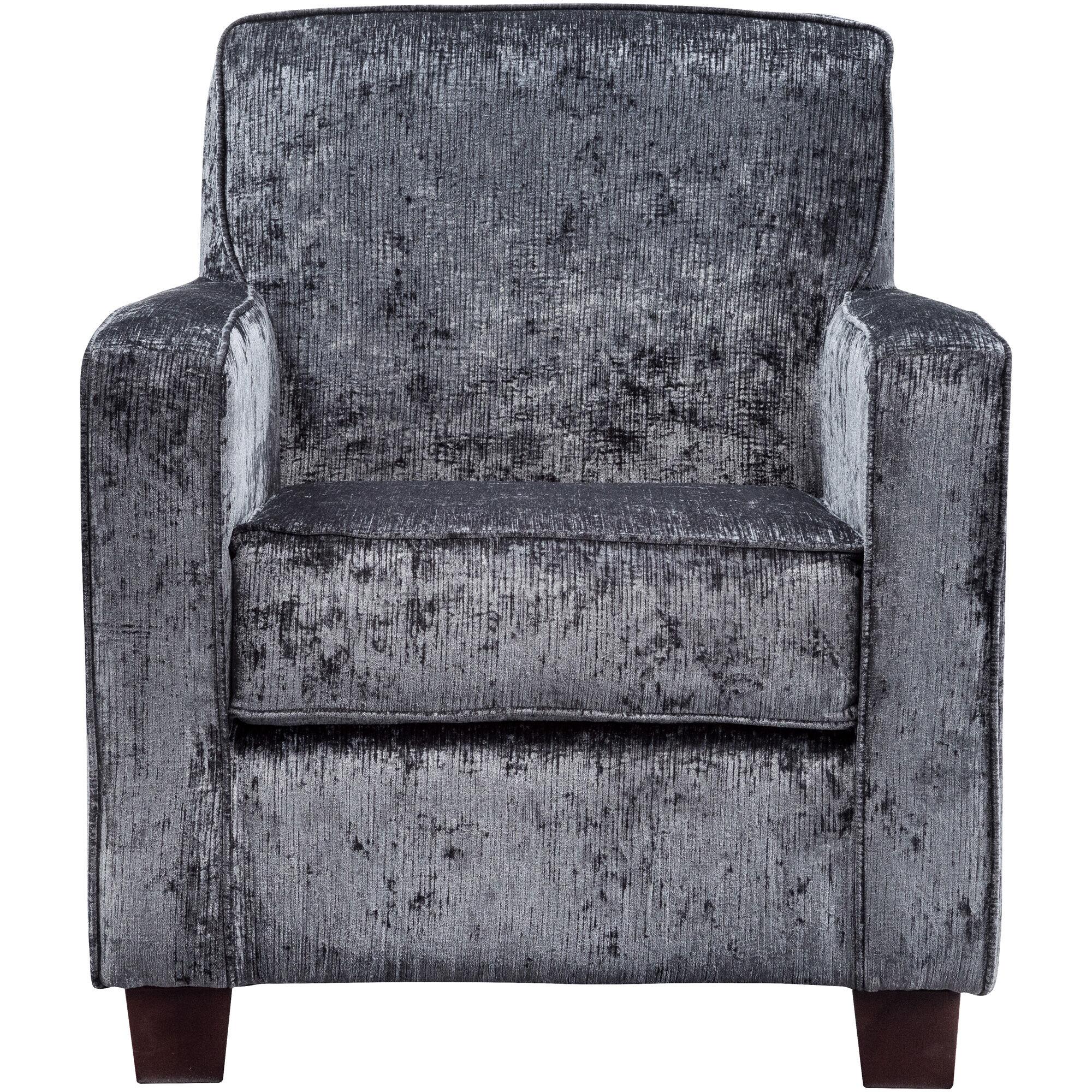 Johnston Dark Gray Accent Chair