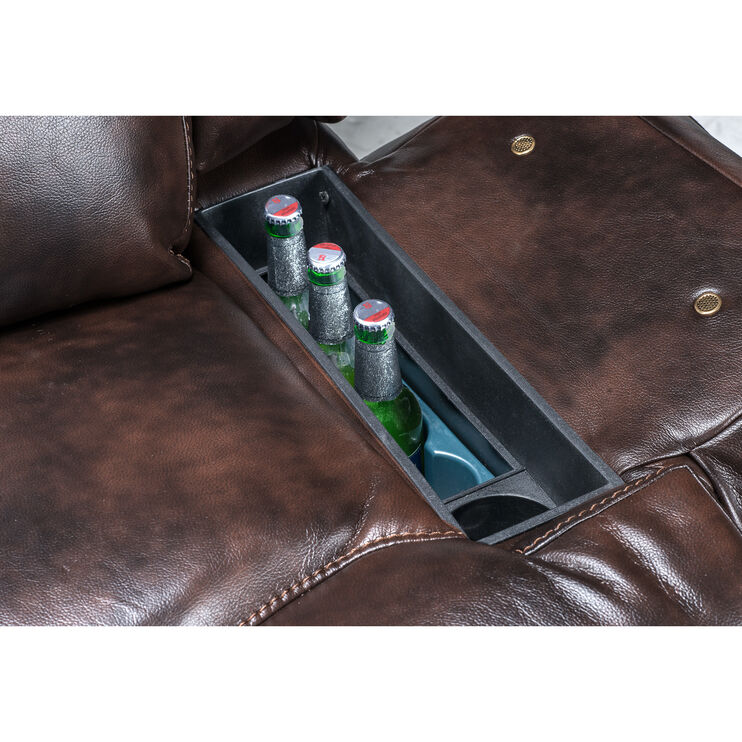 Everest Chocolate PowerFrosty Recliner